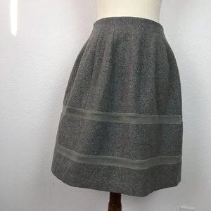 Madewell Wool Blend Pockets Full Skirt